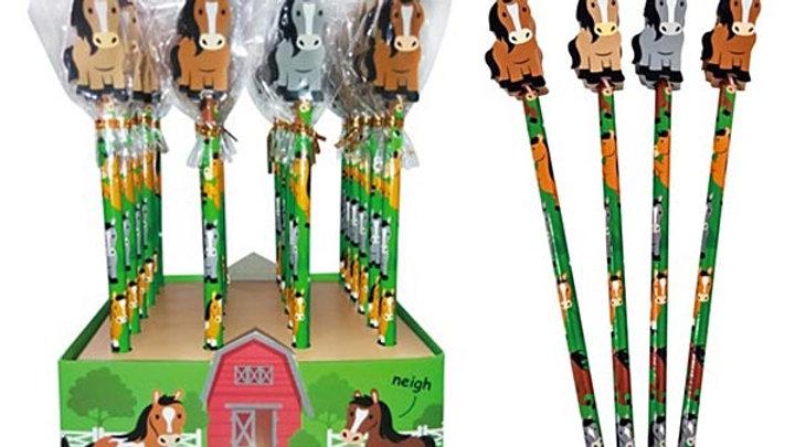 Pony Club Pencil Eraser
