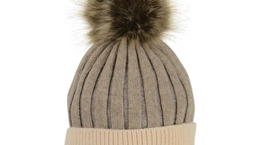HyFASHION Luxemborg Luxury Bobble Hat
