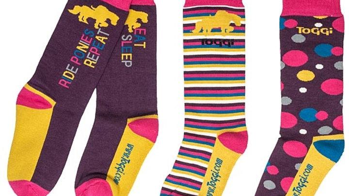 Toggi Children's Shanna Socks - 3 Pack