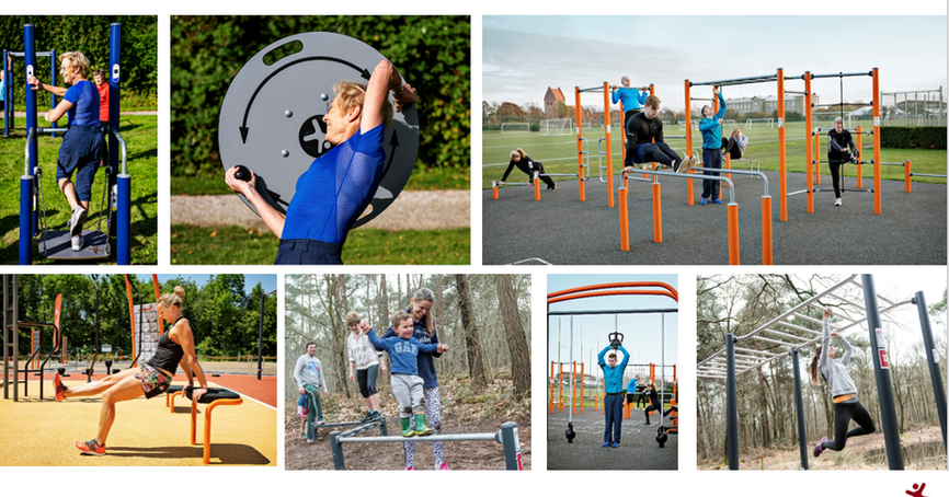 Fitness Park Reference Photos
