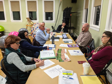 The Town Farm Committee dives in