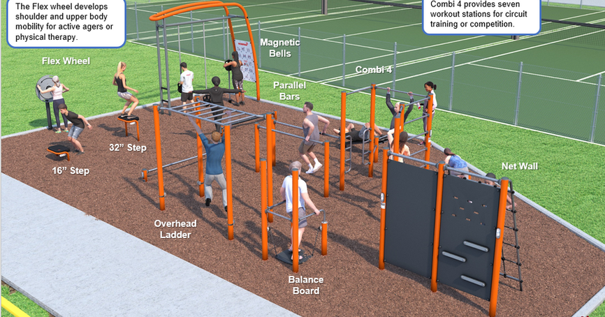 Fitness Park Components