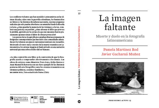 La imagen Faltante. Investigación fotografía latinoamericana