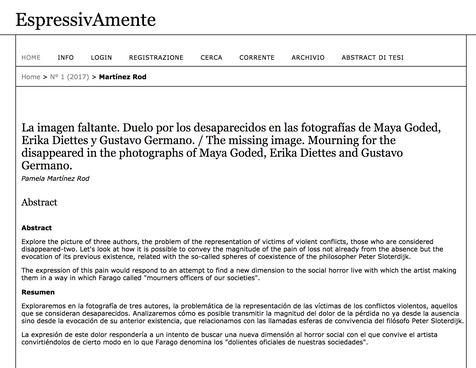 Revista indexada ExpressivAmente