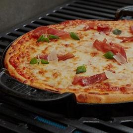 Pizza estilo Deep Pan | Weber