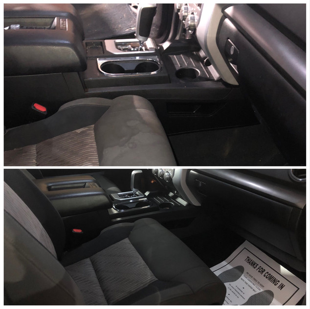 Interior Detail Before and After