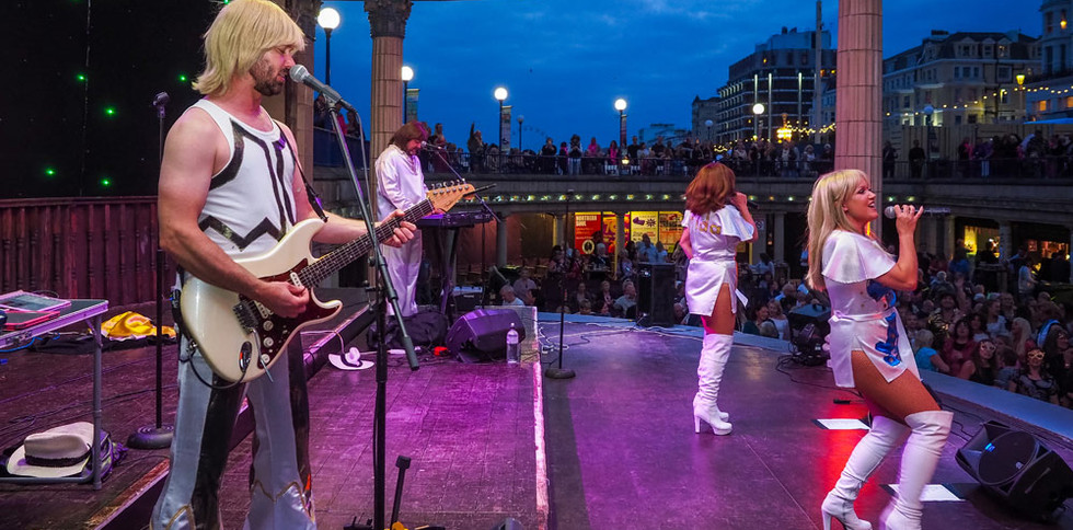 Abba Magic at Eastbourne Bandstand