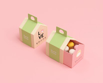 Packaging design for The Mochi House in Switzerland