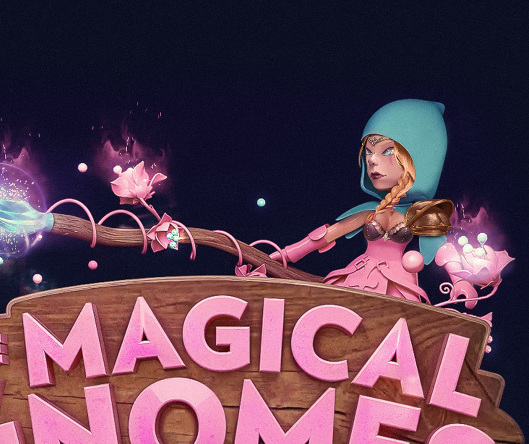 Ricky Loures Magical Gnomes Logo Design