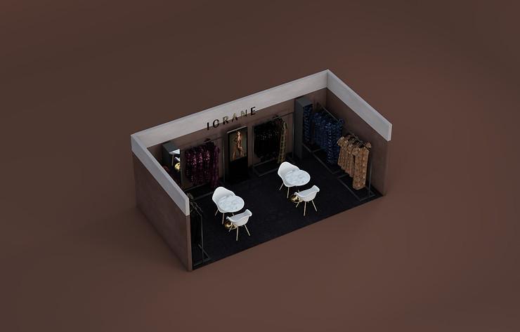 Booth design for Iorane