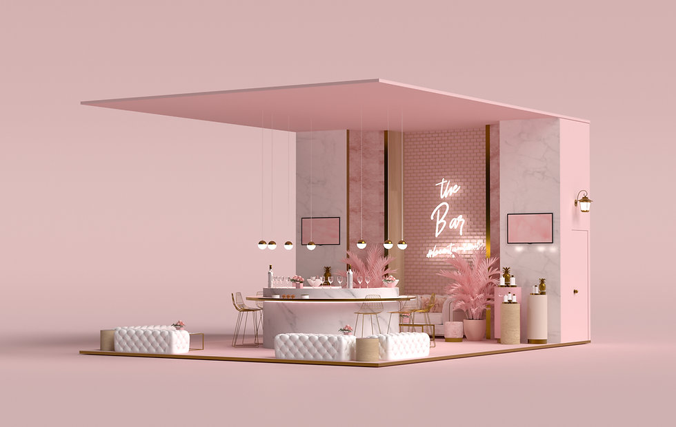 2xr Design Beauty and Makeup Booth Desig
