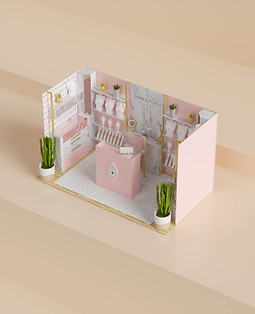 Booth design for Swagy Chic