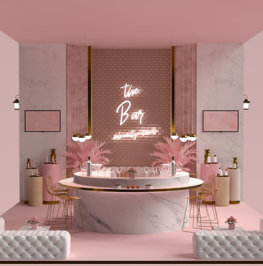 Booth Design by 2xr Design for a Beauty Event in Miami