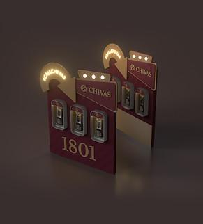 Photo booth design for Chivas