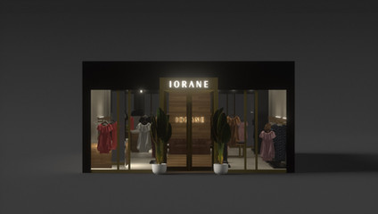 Store design at the Brickell City Centre for Iorane by 2xr Design