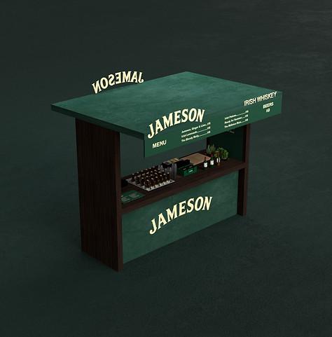 Bar Design for Jameson by 2xr Design