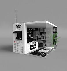 Booth Design for Radio Cafe Tokyo