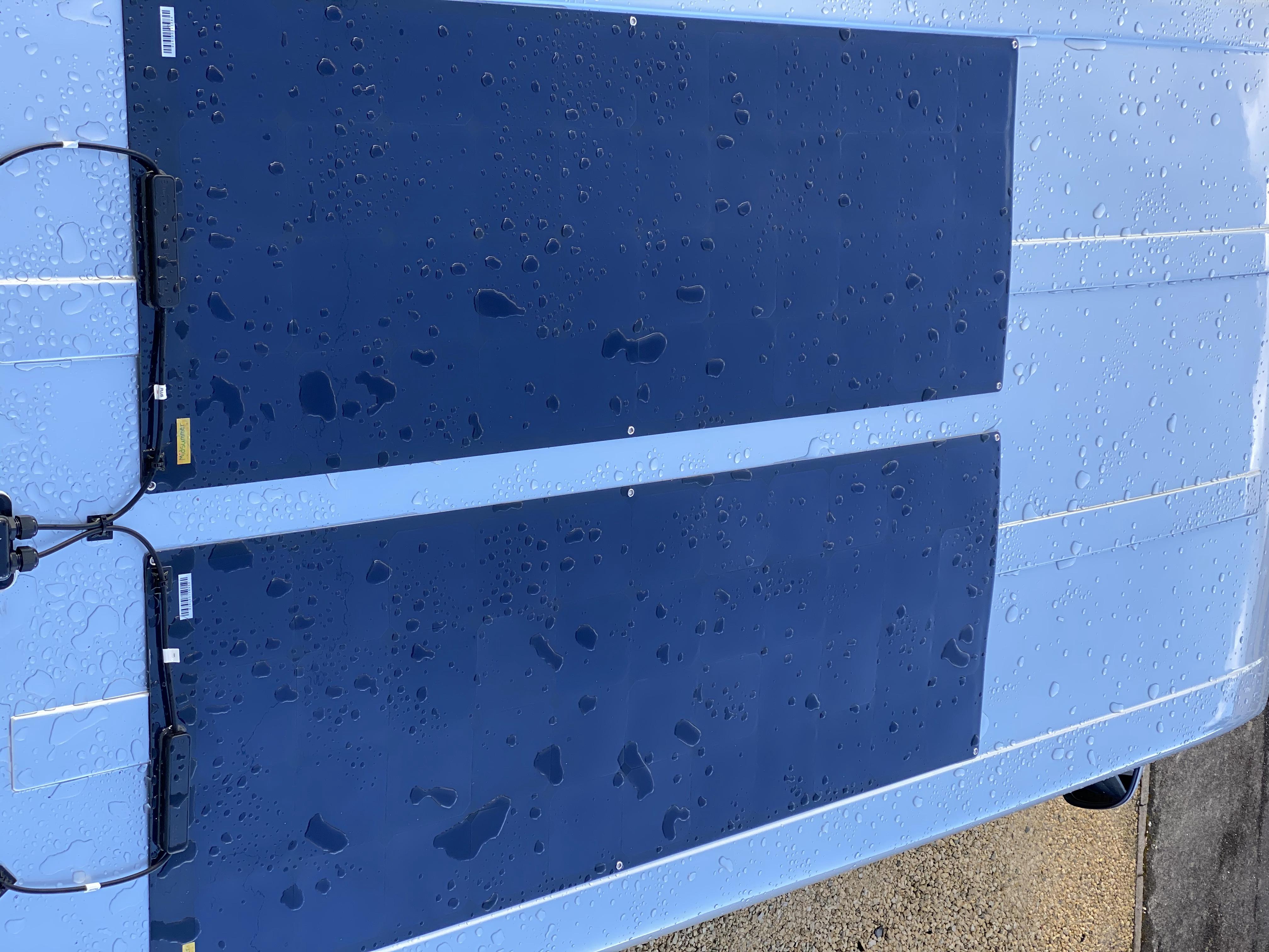 Twin 3solar panels