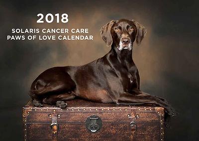 2018 Paws f Love Charity Calendar