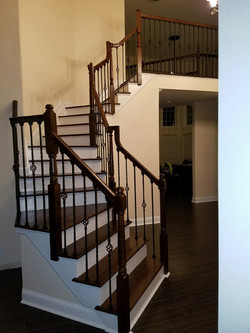 NEW FINISHED STAIRS