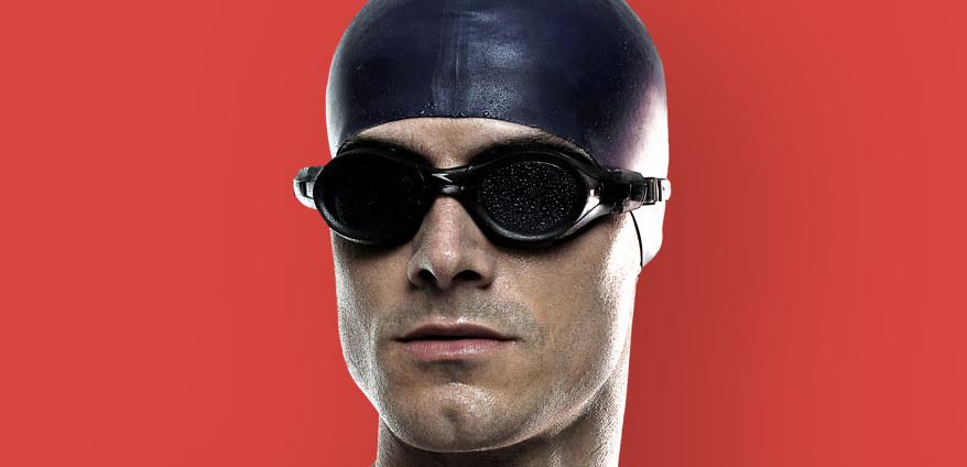 Nuotatore maschio
