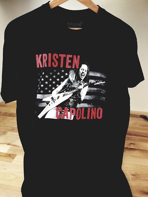 Mens Kristen Capolino Live T-Shirt
