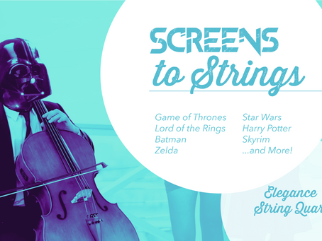 Screens to Strings - Hear us LIVE!
