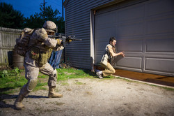 Marines raid building