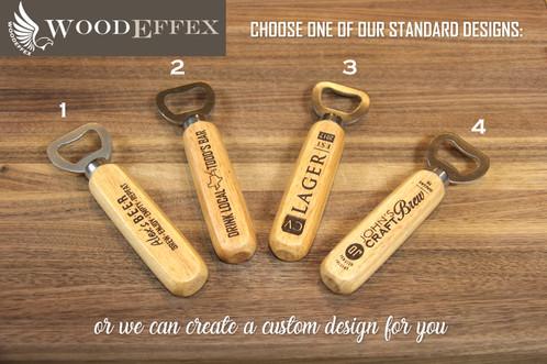 personalized beer bottle opener custom designed