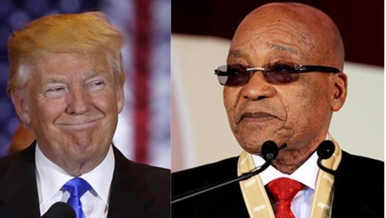 Praying for President Trump? And Zuma?