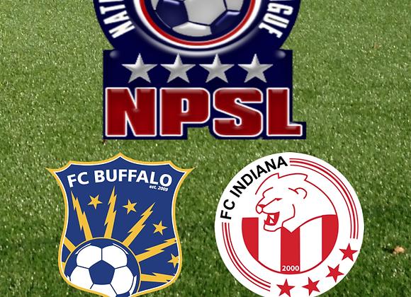 5/29/15 FC Buffalo vs FC Indiana - NPSL Soccer