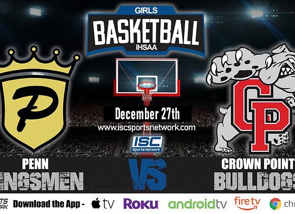 12/27/19 Penn vs Crown Point - IHSAA Girls Basketball