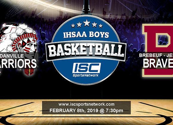 2/8/19 Danville vs Brebeuf - IHSAA Boys Basketball