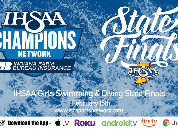2/15/2020 IHSAA Girls Swimming and Diving State Finals