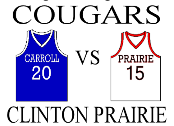 11/29 Carroll vs Clinton Prairie - Boys BBall