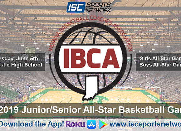 IBCA Jr. / Sr. All Star Game - Girls Basketball