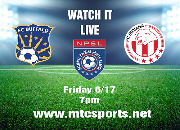 6/17/16 FC Buffalo vs FC Indiana - NSPL Soccer
