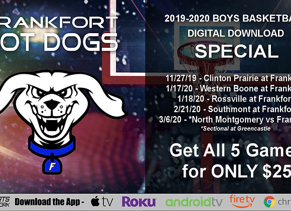 2019-20 Frankfort Hot Dogs Boys BBall (Digital Downloads)