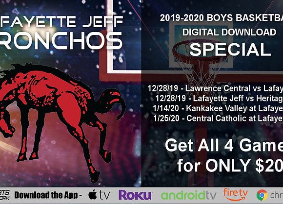 2019-20 Lafayette Jeff Bronchos Boys BBall (Digital Downloads)