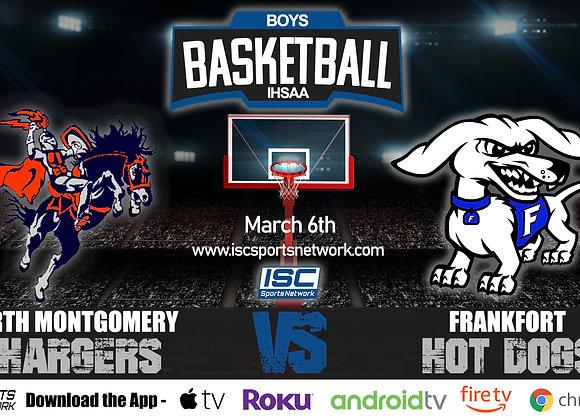 3/6/2020 North Montgomery vs Frankfort - IHSAA Boys Basketball