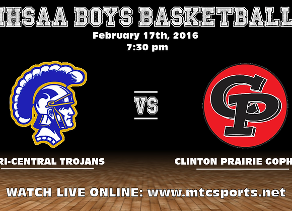 2/17/17 Tri-Central vs #5 Clinton Prairie - BBB