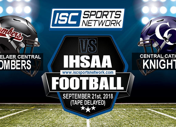 Wk 6 - Rensselaer Central at Central Catholic - FB
