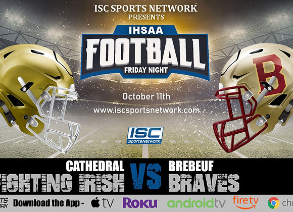 10/11/19 Cathedral vs Brebeuf - IHSAA Football