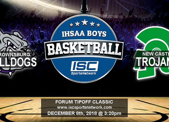 12/8/2018 Brownsburg vs New Castle - Boys Basketball
