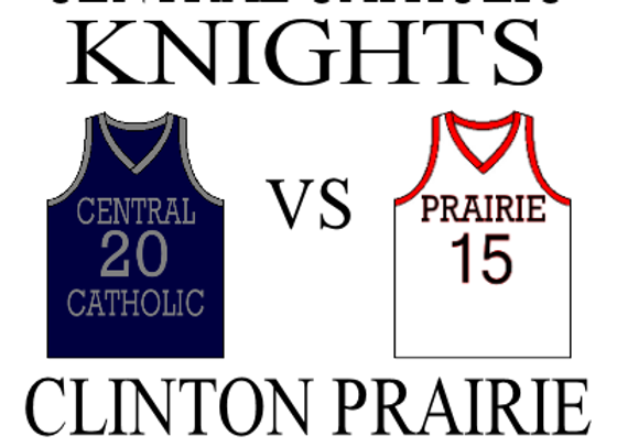 1/13 Central Catholic vs Clinton Prairie - GBBall