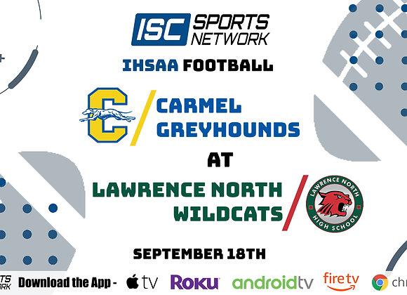 9/18/2020 Carmel at Lawrence North - IHSAA FB