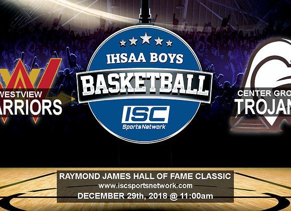 12/29/18 - Westview vs Center Grove - HOF Classic BBB