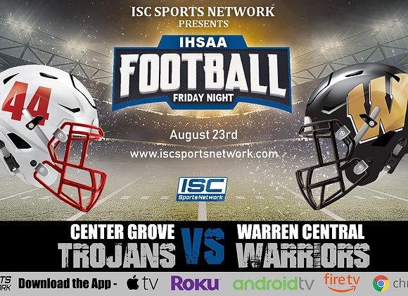 8/23/19 Center Grove at Warren Central - IHSAA Football
