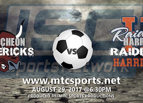 8/29/17 McCutcheon at #1 Harrison - Boys Soccer