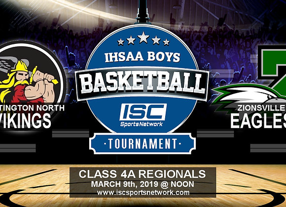 3/9/19 Huntington North vs Zionsville - IHSAA Boys Basketball